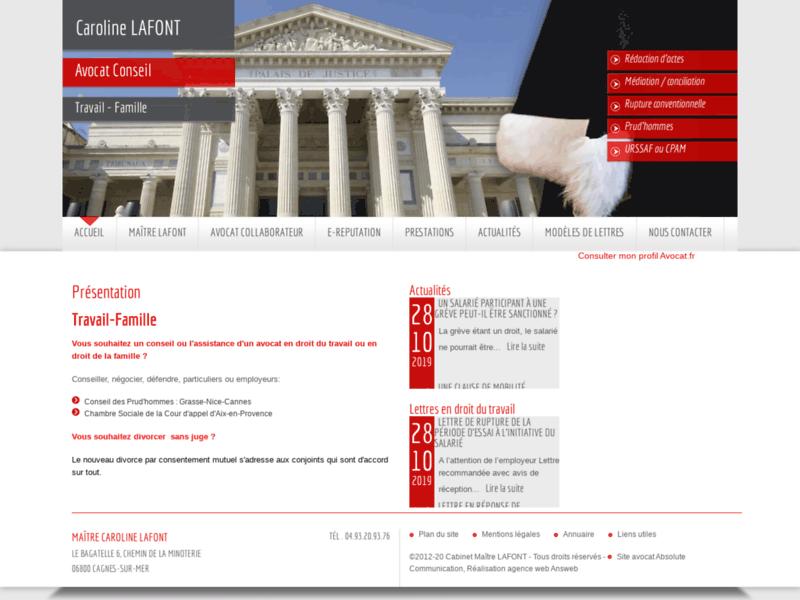 Cabinet avocat licenciement
