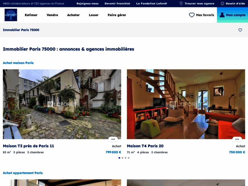 Achat Immobilier Laforet Paris - www.laforet-paris.com