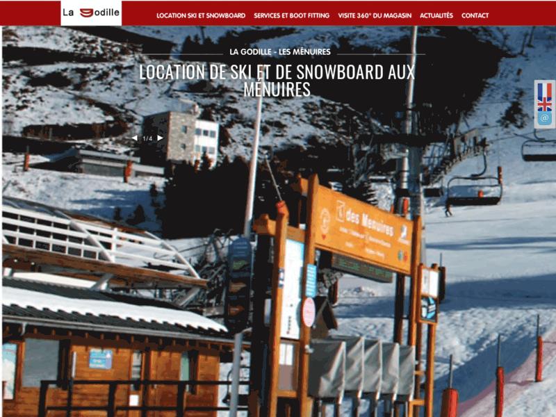 La Godille - location de ski aux Ménuires