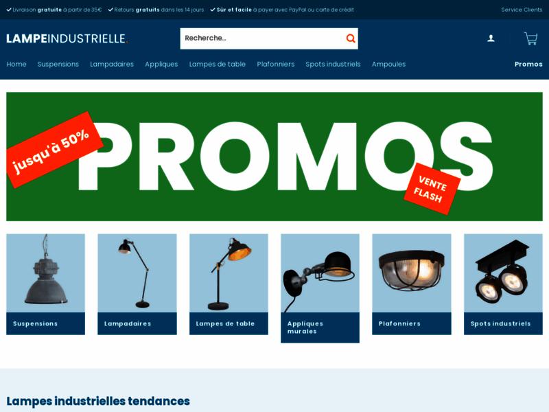 Lampe industrielle, vente de luminaires industriels