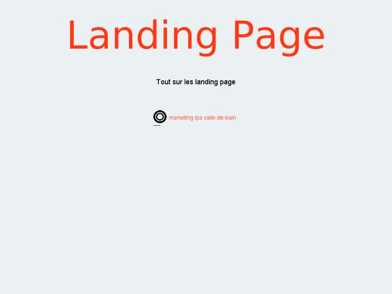 Landing Page: création de landingpage