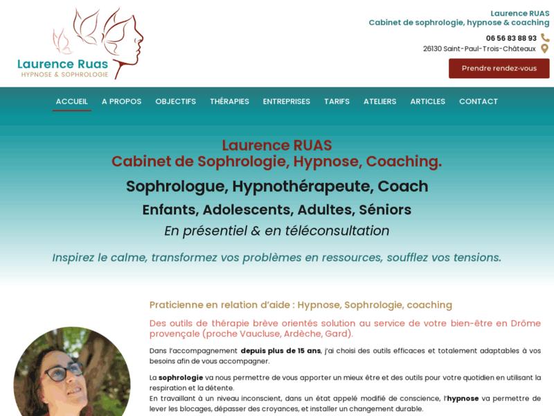 Laurence Ruas, sophrologie, hypnose & coaching (Sud Drôme)