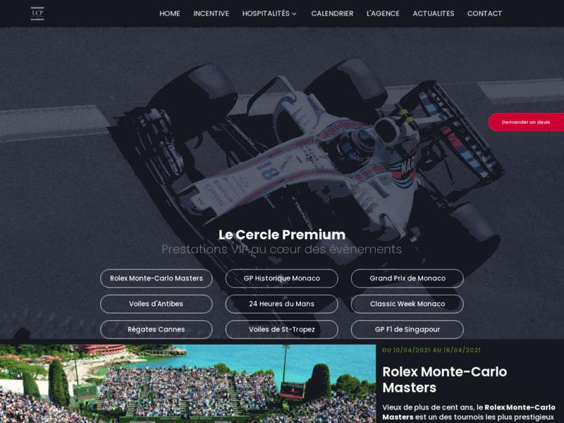 F1 de Monaco en vip