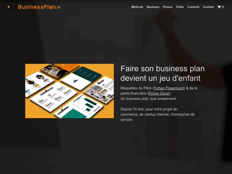 Exemple de business plan