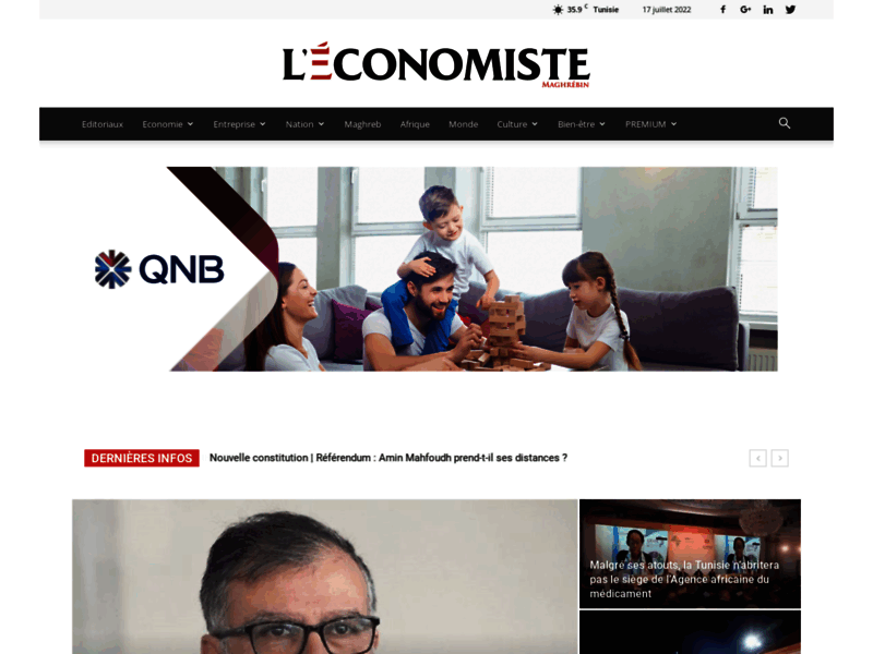 L'économiste Maghrébin