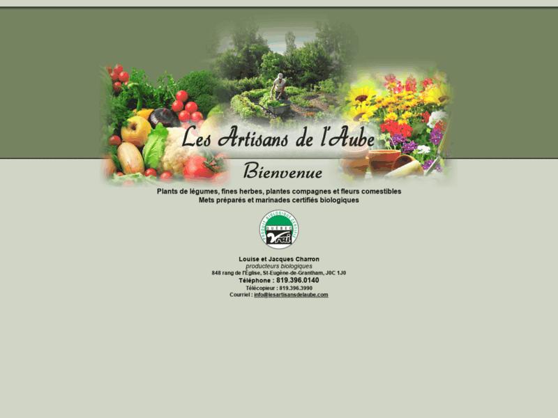 Plants de légumes et fines herbes - Mets préparés végétariens.