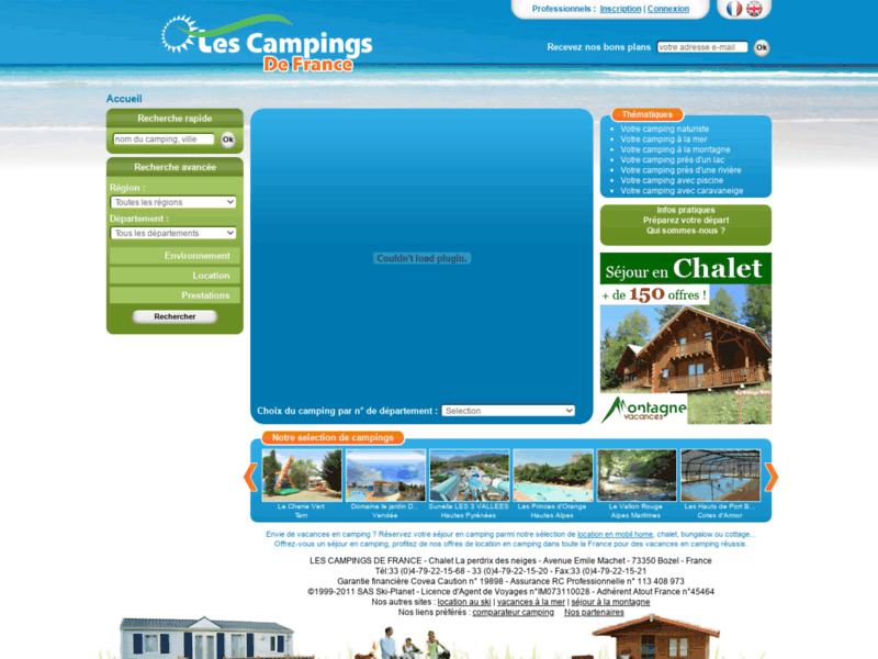 Le guide du camping en France