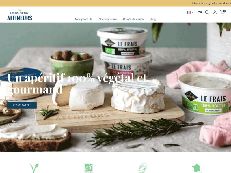 Les Nouveaux Affineurs, fromages 100% végétal