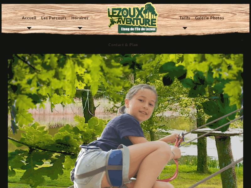 Lezoux Aventure, parc d'accrobranche près de Clermont-Ferrand