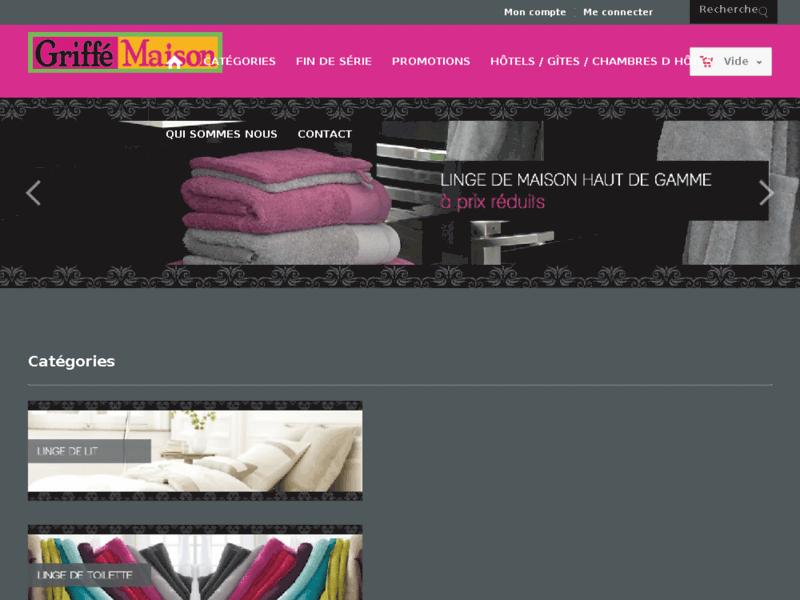 Boutique en ligne de linge de maison