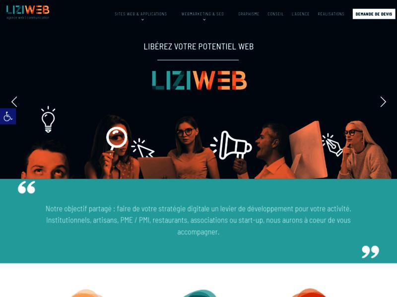 Liziweb, agence web pour entreprises normandes