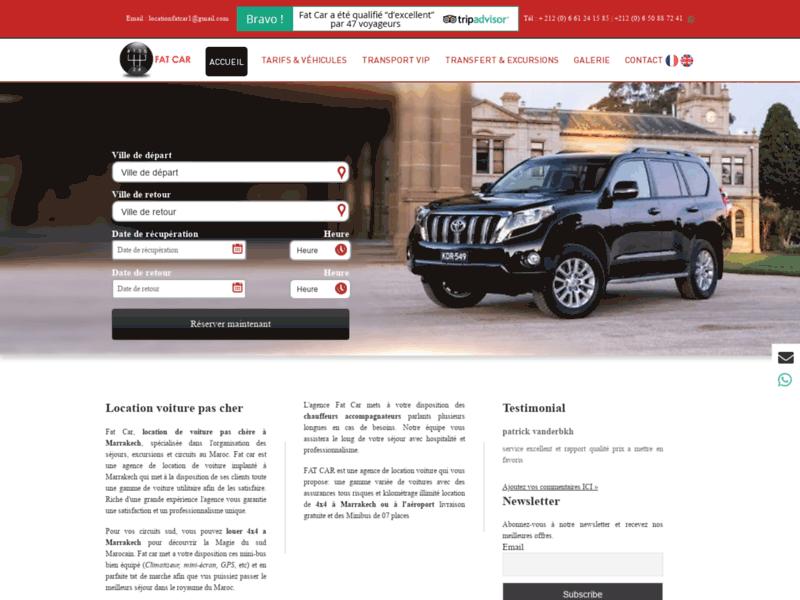Locationfatcar : Location voiture Marrakech