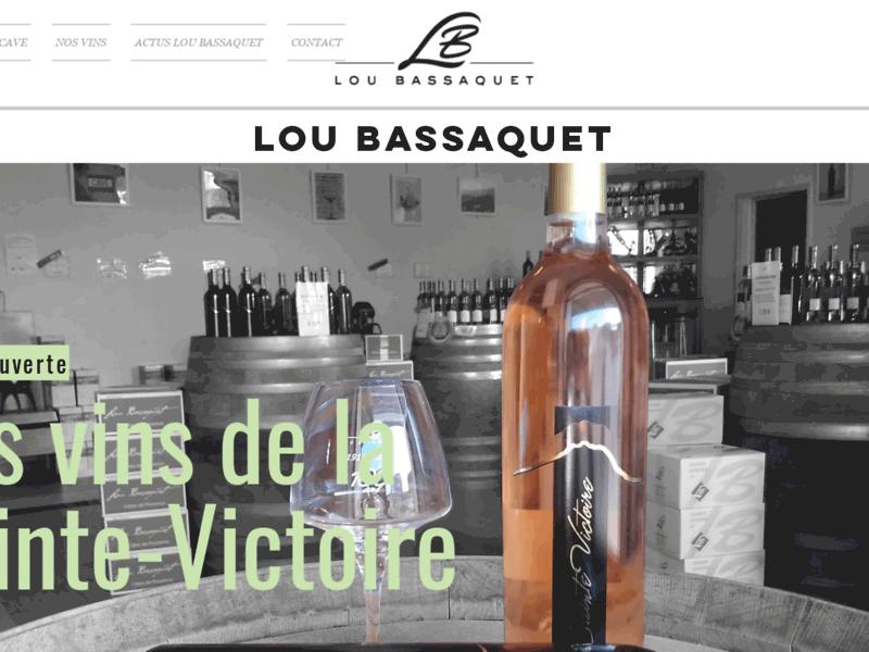 Lou Bassaquet : Achat de vins