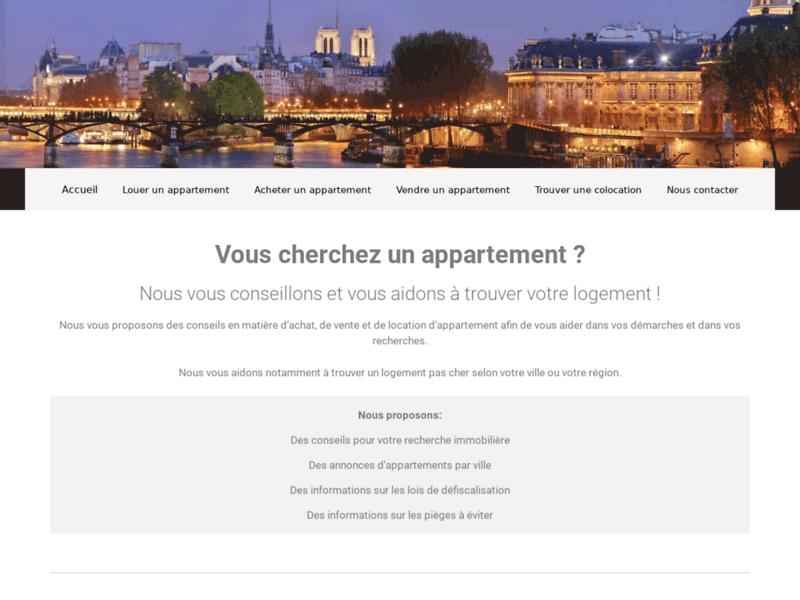 Appartement à louer à Paris pas cher