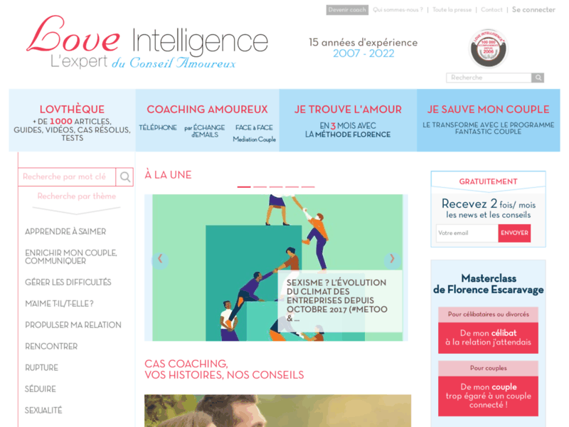 Conseil amoureux - Love Intelligence