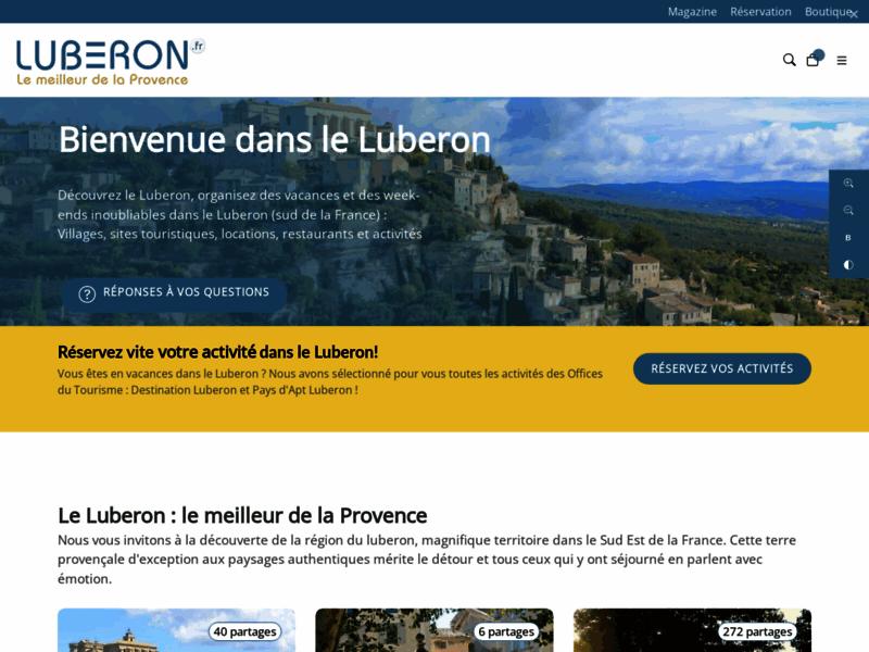Luberon, portail touristique du Luberon