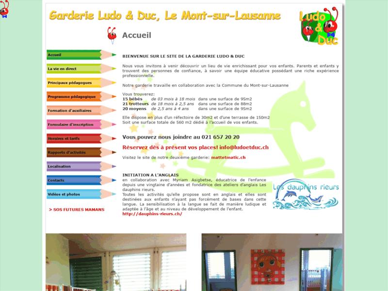 Jardin d'enfants près de Lausanne