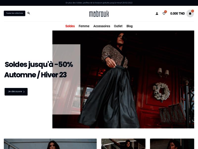 Vêtements femme en ligne Tunisie
