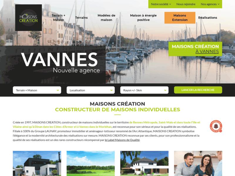 Maisons Création - Le constructeur de maisons individuelles 100% BBC à Rennes
