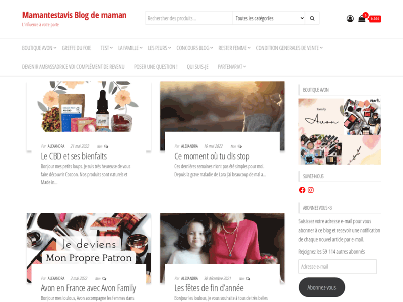Mamantestavis Blog Maman