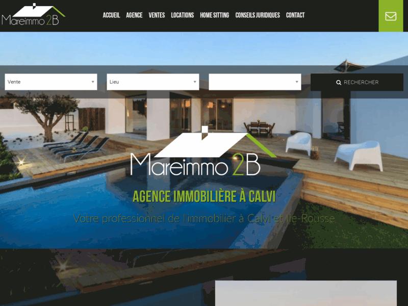 Mare Immo 2B, agence immobilière à Calvi