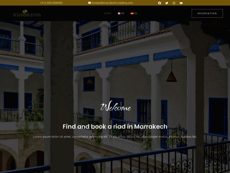 Marrakech Medina Booking, chambres en Riad au Maroc