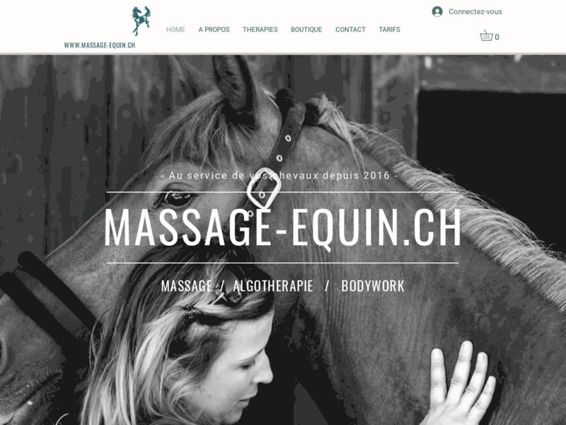 Cindy Wohlwend, thérapies et soins du cheval