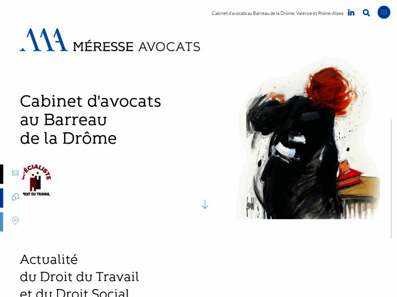 Accueil - Fleurine Méresse | Avocat Valence | Activité dominante Droit social
