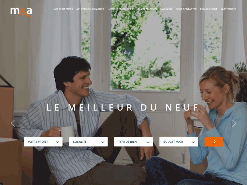 Immobilier neuf Montpellier - M&A Promotion