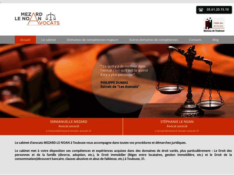 Avocat droit commercial Toulous - Mézard Le Noan