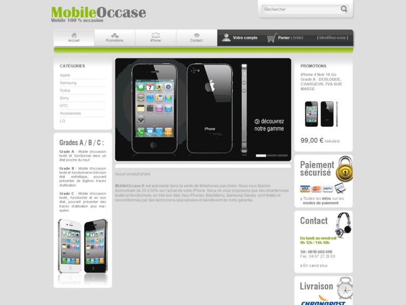 Acheter un iPhone d'occasion