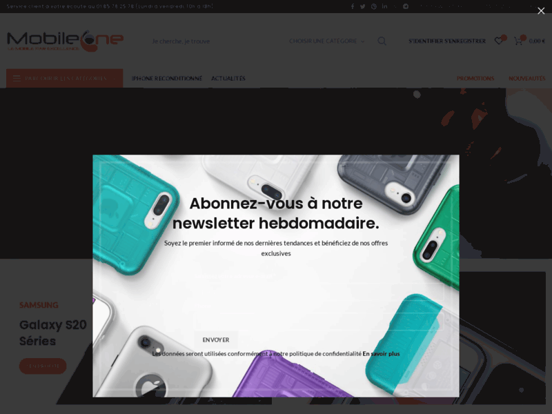 Mobile One - Protection pour smartphone