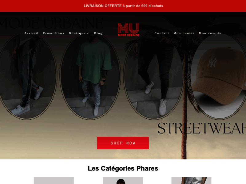 Mode Urbaine, large choix de jean homme et de vêtements hommes