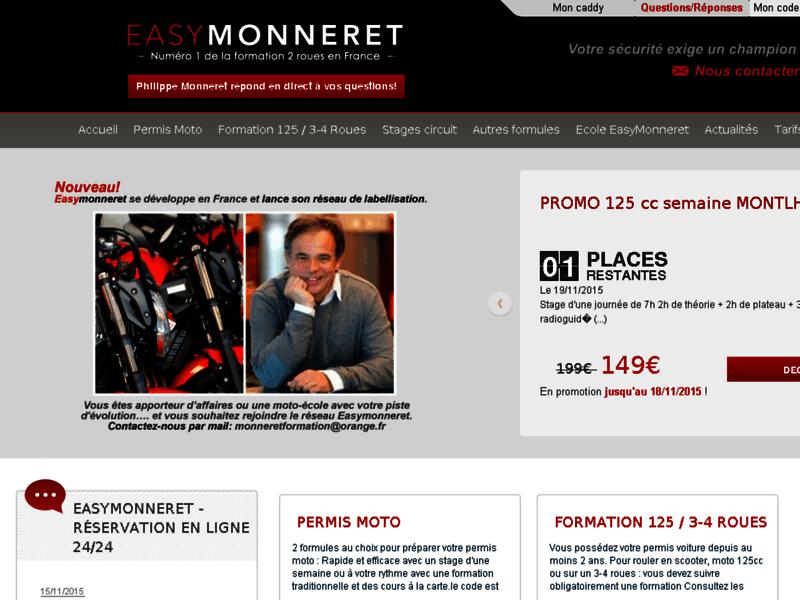 Moto Ecole Monneret