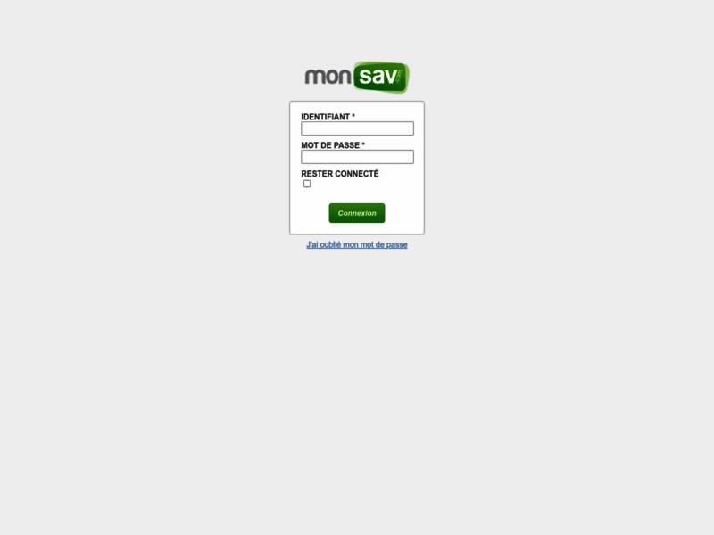 monSAV, extension de garantie TV