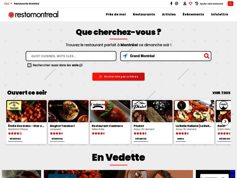 Restaurants Montréal : Tonresto