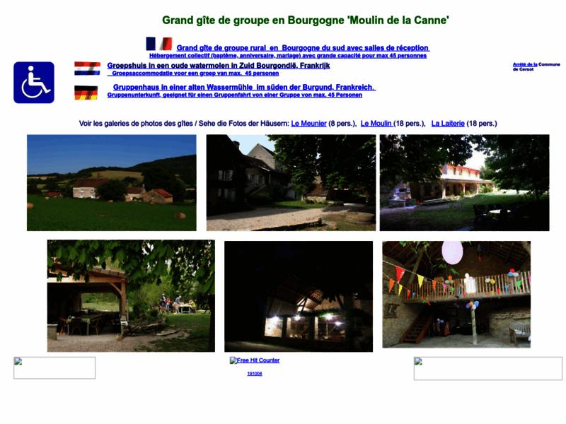 Grand gîte de groupe en Bourgogne pour 45 pers. avec salles de réception