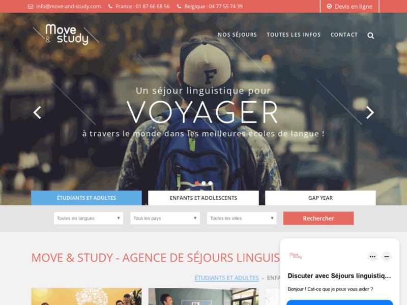 Voyage linguistique : Move and Study