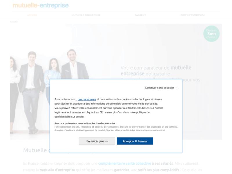 Mutuelle entreprise, comparateur de mutuelle entreprise
