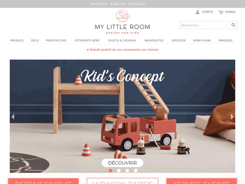 Mobilier et jouets pour la chambre enfant