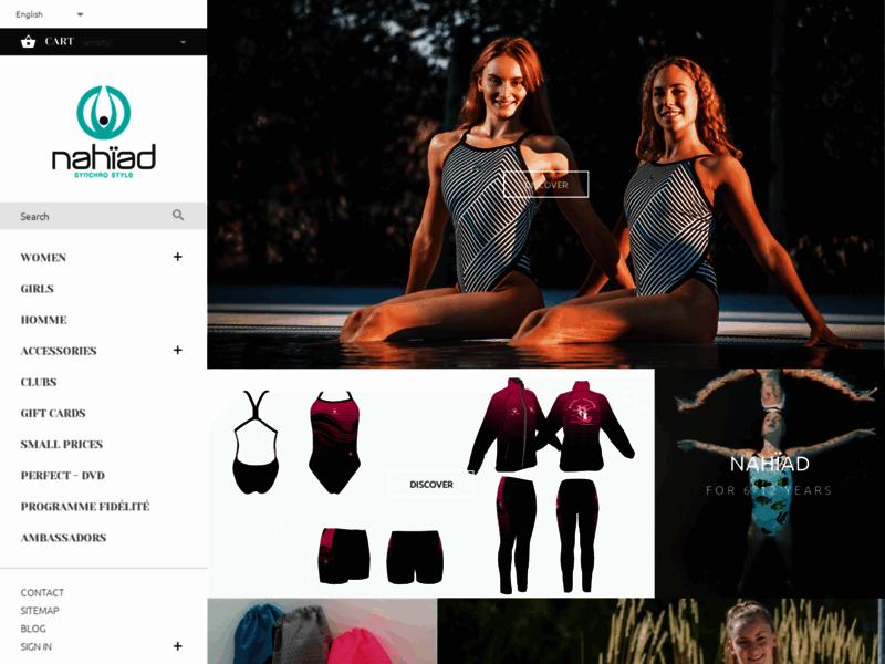 Nahïad, articles de sport pour la natation synchronisée