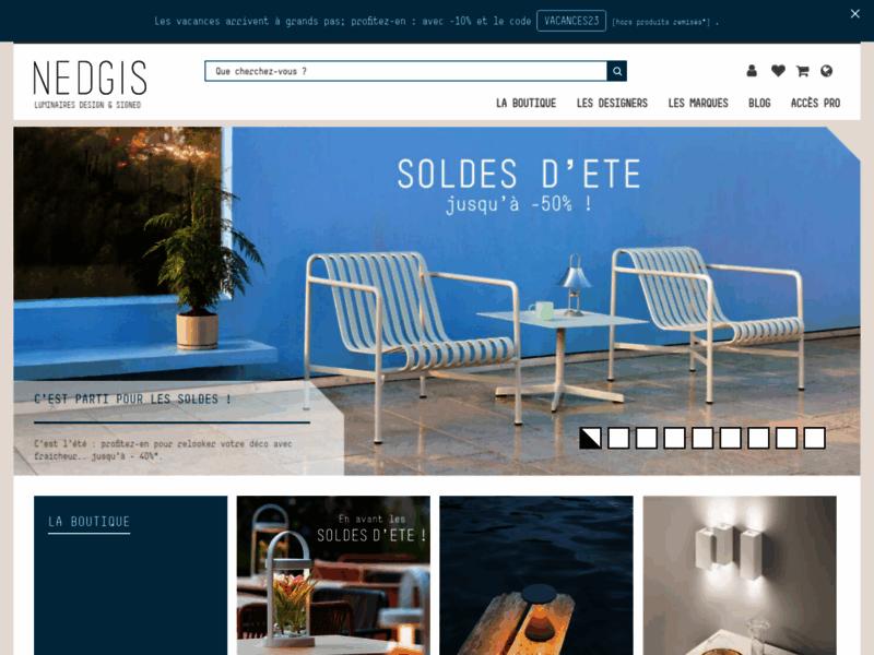 Nedgis, boutique de luminaires design