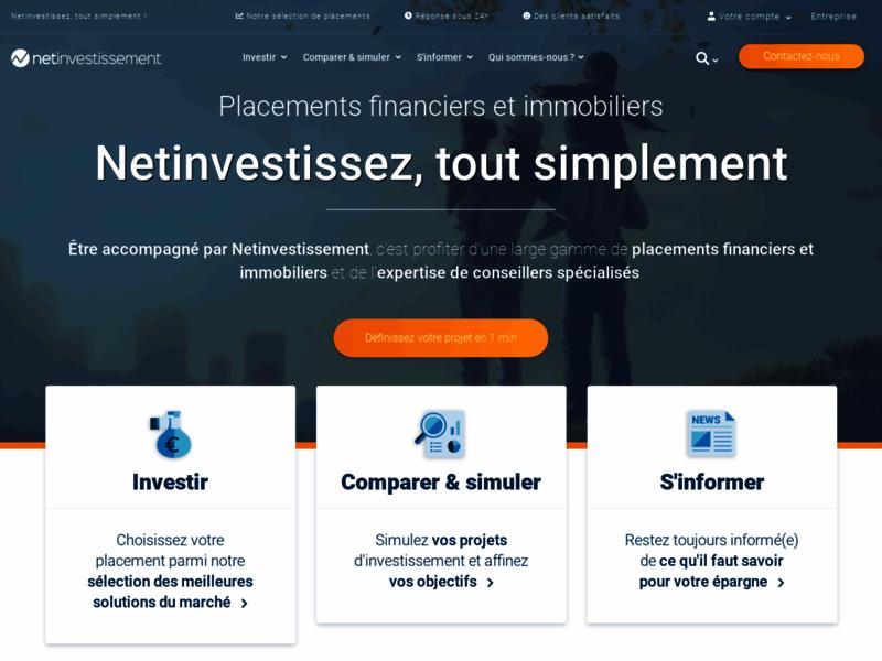 Net-investissement, gestion de patrimoine