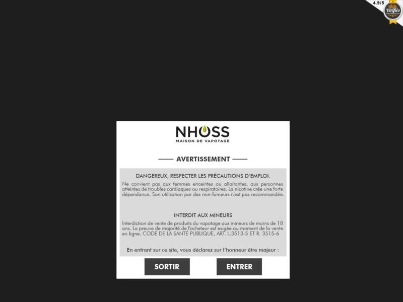 Cigarettes Electroniques Nhoss, la Reference des E-cigarettes