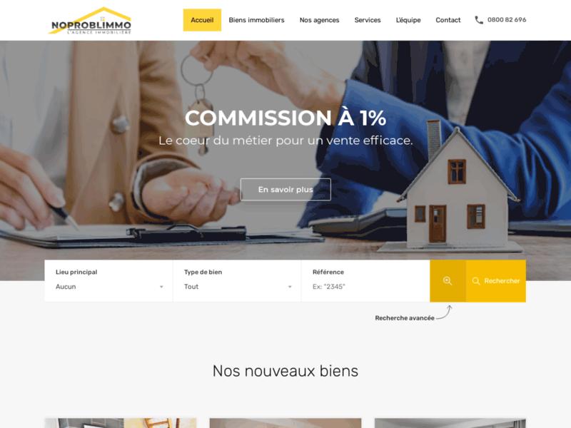 NOPROBLIMMO : spécialiste des ventes et locations immobilières