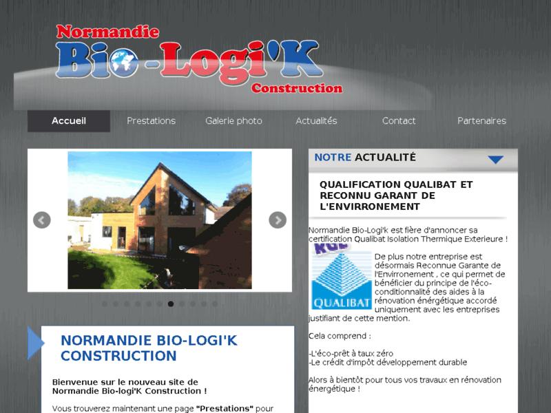 Normandie Bio-Logi'k Construction - construction écologique en Normandie