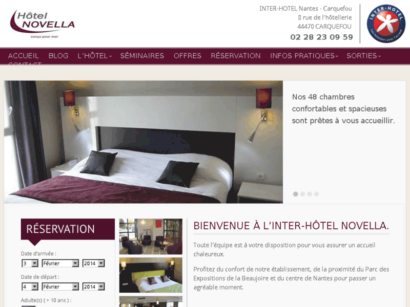 hôtel séminaire près de Nantes