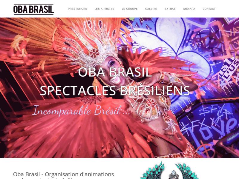 Danseuses bresiliennes - Revue brésilienne -  Oba Brasil
