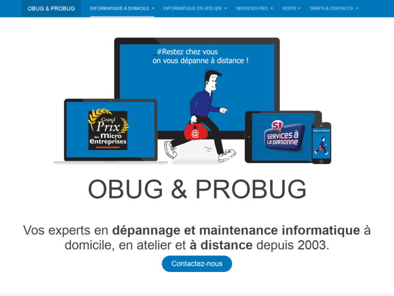 Obug Dépannages et services informatique