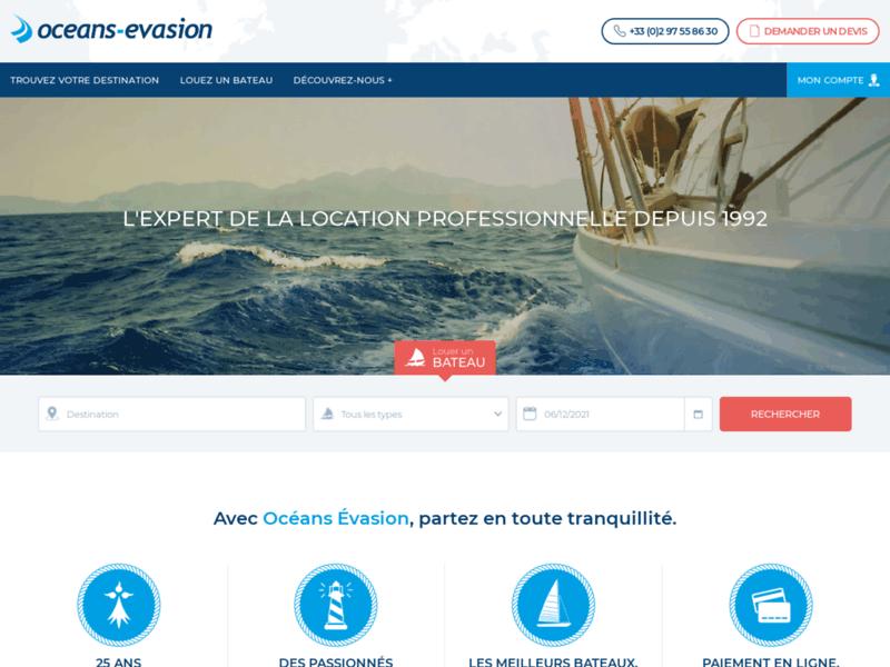Océans Evasion : location catamaran & voilier